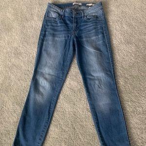 Guess Mid Crop Capri Denim Jeans 26